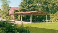 carport sonderkonstruktion mit quersatteldach. Black Bedroom Furniture Sets. Home Design Ideas